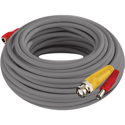 Night Owl CAB-24AWGG-100VP 24AWG BNC Video/Power Camera Extension Cable with Adapter, 100'