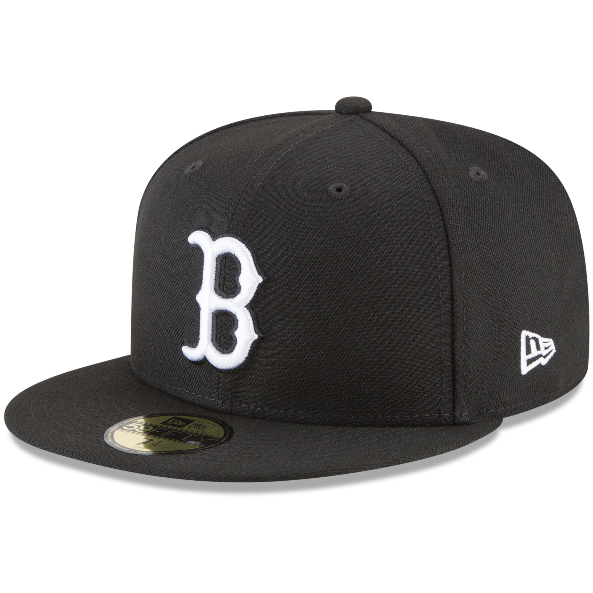 Boston Red Sox New Era Basic 59FIFTY Fitted Hat - Black
