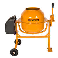 SKONYON Portable 4.6 cu Ft Electric Cement Mixer Machine Deals