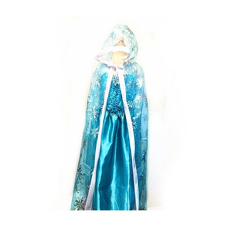 Snow Queen Cape (Costume Girls Snow Queen Hood)