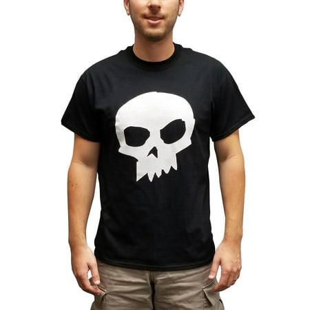Sid Phillips Skull T-Shirt Toy Story Movie Black Costume Halloween Villain Gift (Phillip Halloween)