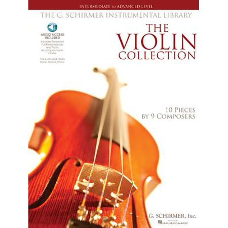 G. Schirmer Instrumental Library: The Violin Collection - Intermediate to Advanced Level (Other)