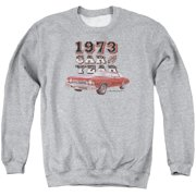 Chevy Car Of The Year Mens Crewneck Sweatshirt Athletic Heather