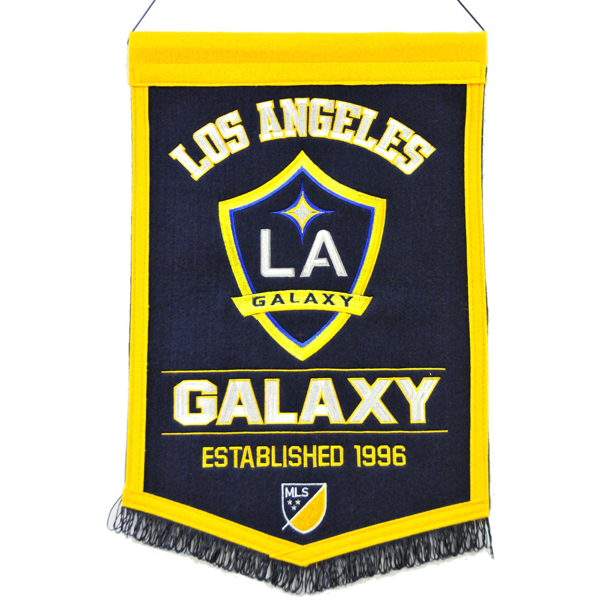 "LA Galaxy 12"" x 18"" MLS Traditions Banner - No Size"