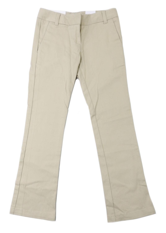 Arrow Girls Size 7 Approved Schoolwear Stretch Skinny Pant, Khaki