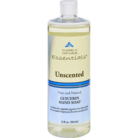 Beaumont Products Clearly Natural Essentials Glycerine Hand Soap, 32 oz (Clearly Natural Glycerine Soap)