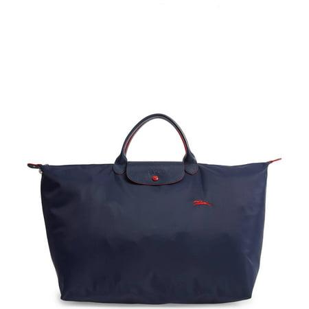 Longchamp Women's Le Pliage Navy Blue Club Tote Travel Bag (Longchamp Tote Navy)