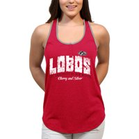 New Mexico Lobos Choppy Arch Women'S/Juniors Team Tank Top