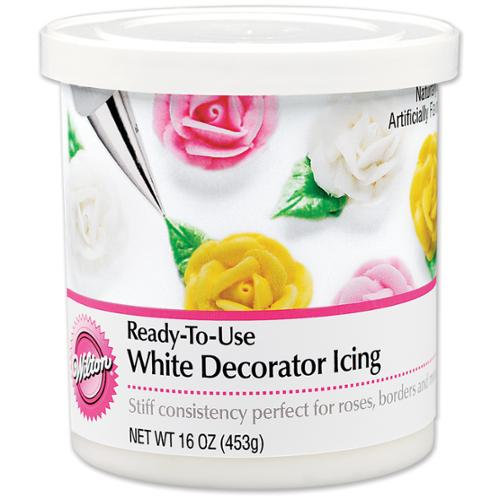 Ready-To-Use Decorator Icing 16 Ounces-White