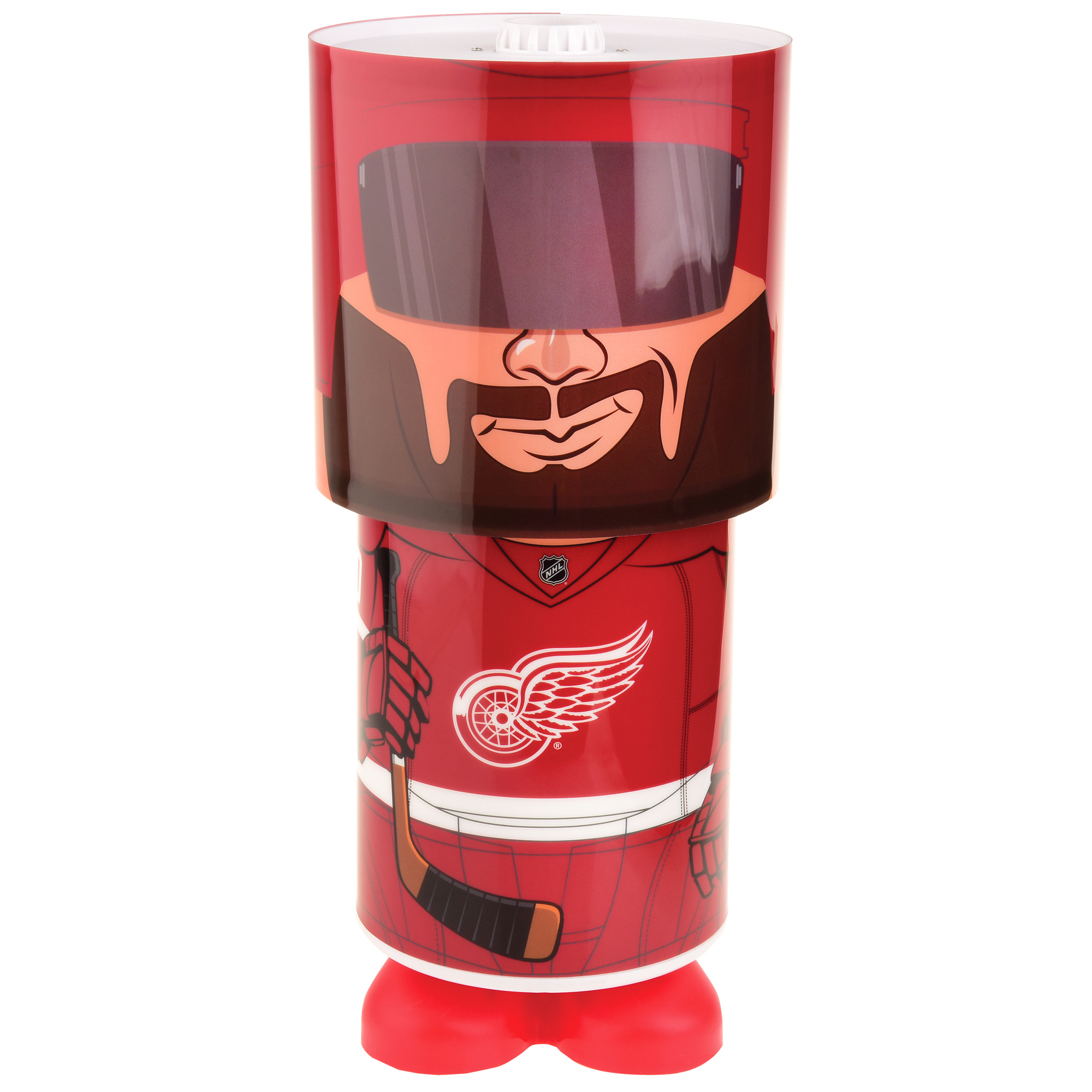 Detroit Red Wings Rotating Desk Lamp - No Size
