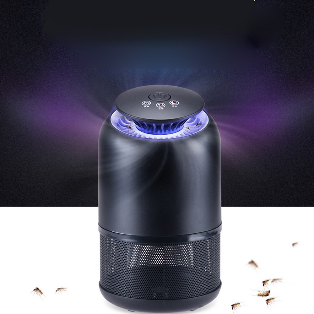 Anself Smart UV Mosquito Killer Household LED Mosquito-Killing Trap Lamp by