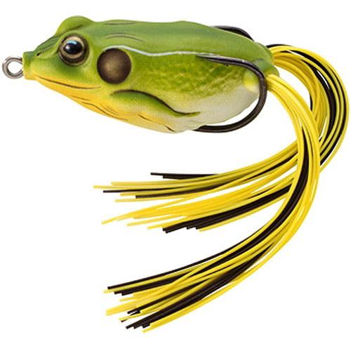 Koppers LiveTarget Hollow-Body Frog, 5/8 oz, Bright Green
