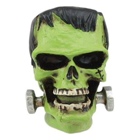 Ebros Halloween Dr Victor Frankenstein Skull Figurine 2