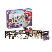 Schleich, Horse Club, Horse Club Toy Advent Calendar - 24 Unique Figures