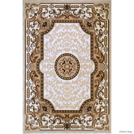 18th Century Rugs - Allstar Rugs Allstar 18th Century Vintage Floral Medallion Rug