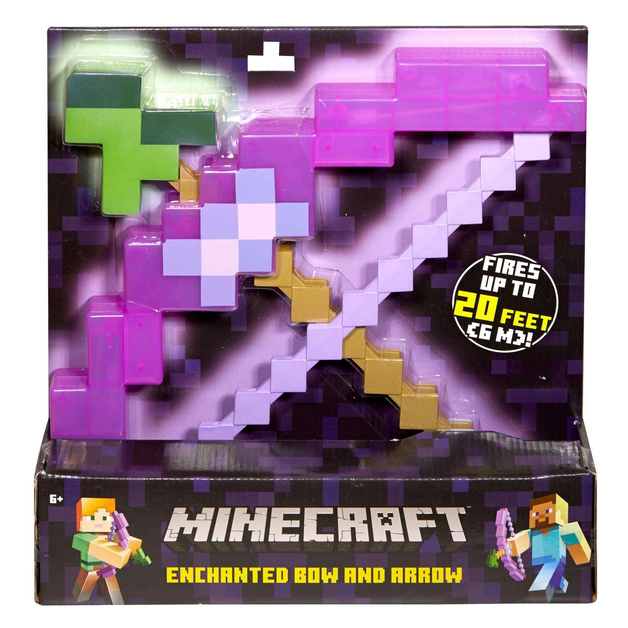 Minecraft Enchanted Bow And Arrow Walmart Com