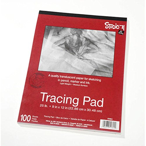 Darice 9-Inch-by-12-Inch Tracing Paper, 100-Sheets