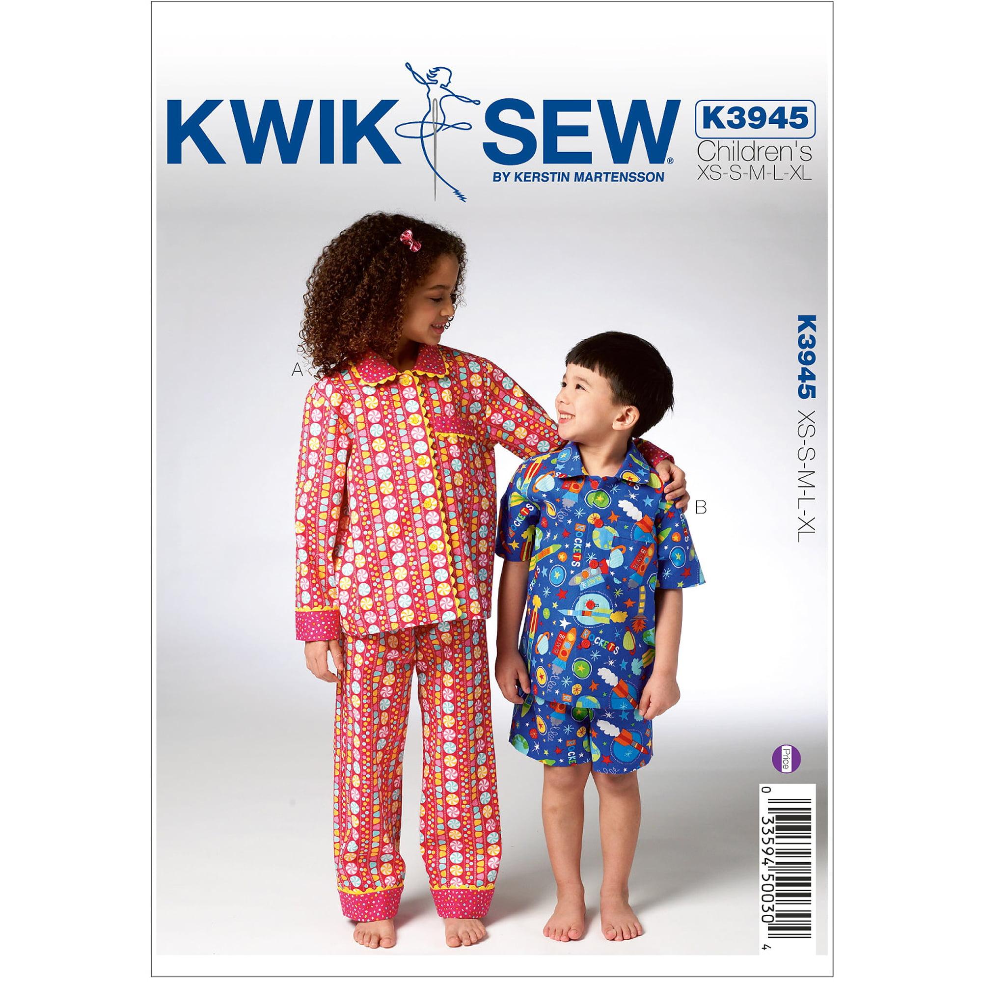 Childrens Pajamas-XS-S-M-L-XL