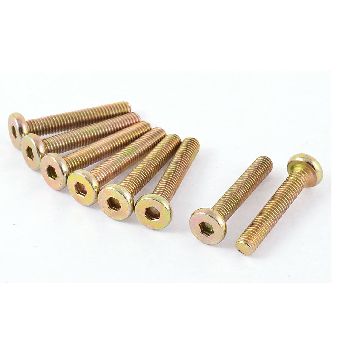 M6x35mm Metric Thread Hex Socket Head Cap Screws Bolts 4 Pcs