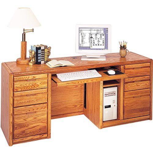 Martin Home Furnishings Contemporary Credenza Computer Desk