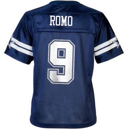 info for d87fd 186f5 NFL Dallas Cowboys Women's Tony Romo Jersey, 2XL