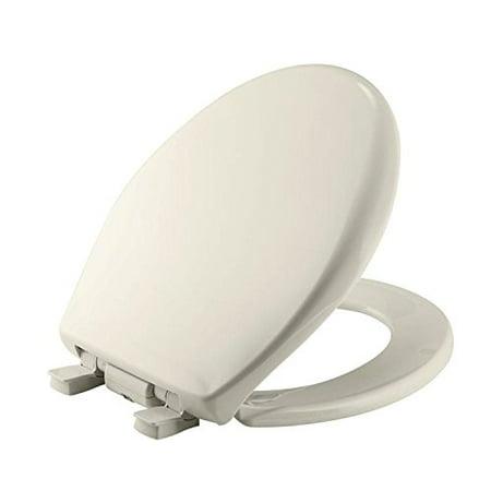 Bemis 200E3NL-346 Biscuit Affinity Round Plastic Toilet Seat