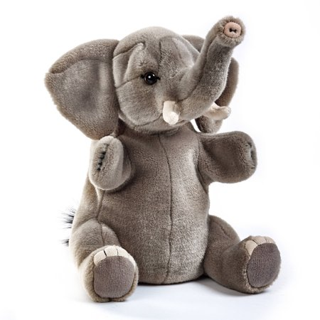 Lelly National Geographic Hand Puppet, Elephant ()