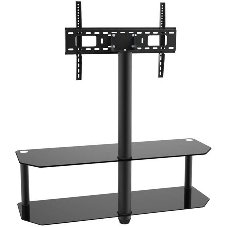 inland products proht 05449 black tv stand with mount for tvs up to 60. Black Bedroom Furniture Sets. Home Design Ideas