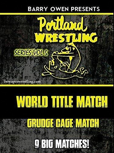 Barry Owen Presents Best Of Portland Wrestling: Volume 5 DVD by