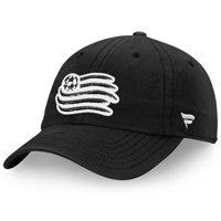 New England Revolution Fanatics Branded Tonal Fundamental Snapback Adjustable Hat - Black - OSFA