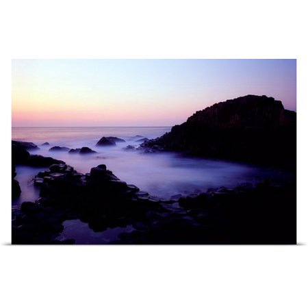 Great Big Canvas The Irish Image Collection Poster Print Entitled The Giants Causeway  County Antrim  Ireland