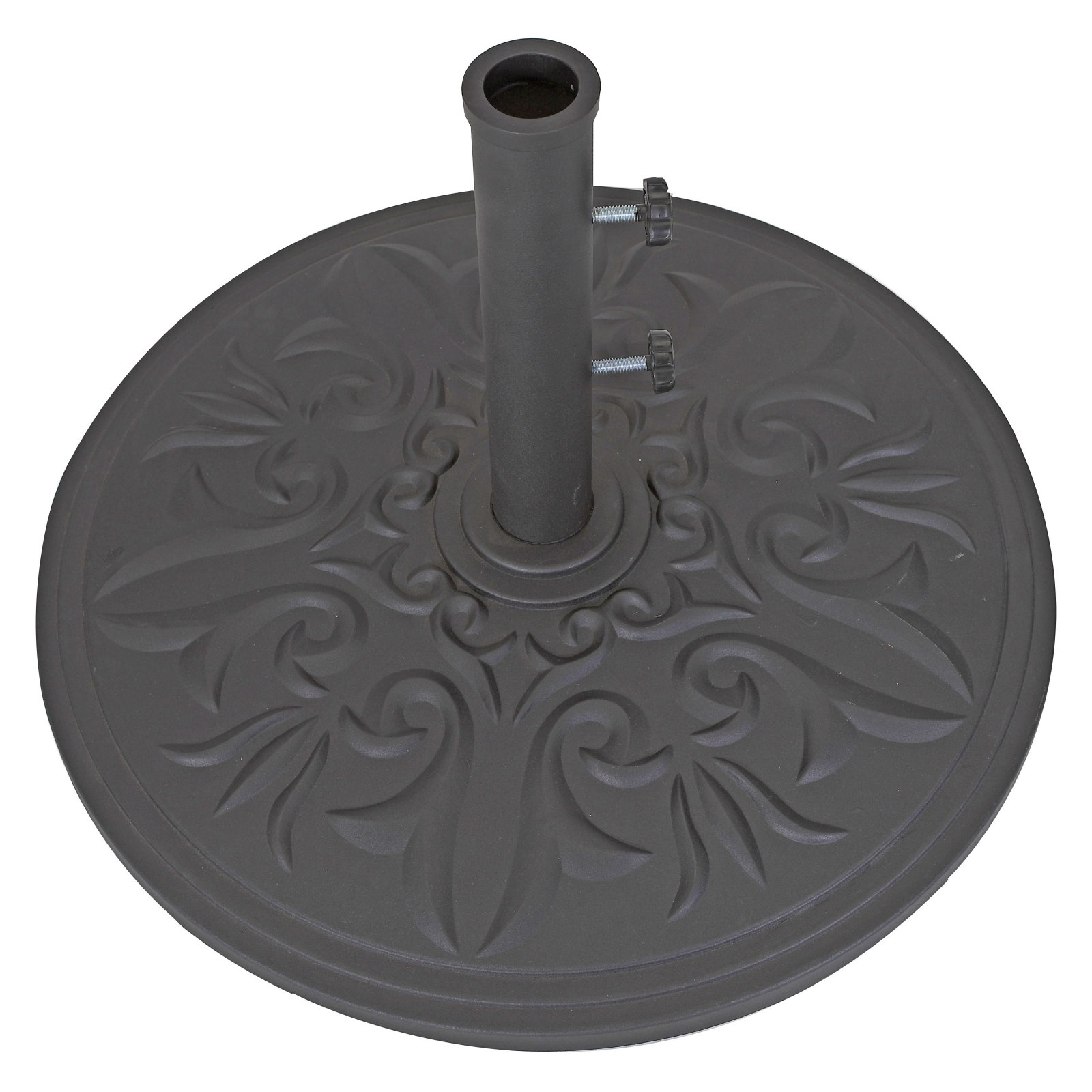 Galtech 75-lb. Cast Aluminum Umbrella Base