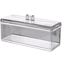 Clear Acrylic Makeup Organizer, Jewelry & Cosmetics Display Box, For Bathroom & Vanity, By AcryliCase