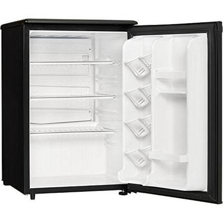 Danby Designer 2.6 Cu Ft Compact All Refrigerator DAR026A1BDD-3, Black