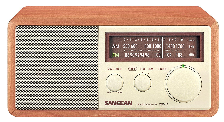Sangean Wood Table Top Radio by Sangean