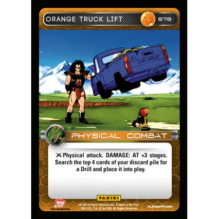 Dragon Ball 2014 Starter Set Orange Truck Lift S78