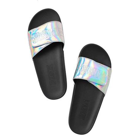 b49c65c76d675 Victoria s Secret - Victoria s Secret PINK Crossover Comfort Slide Sandals  Shoes - Walmart.com