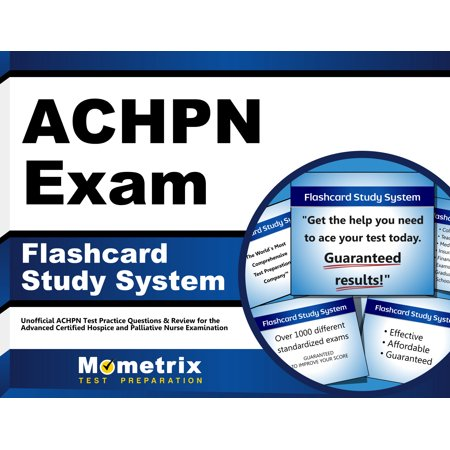 ACHPN Exam Flashcard Study System: Unofficial ACHPN Test Practice ...
