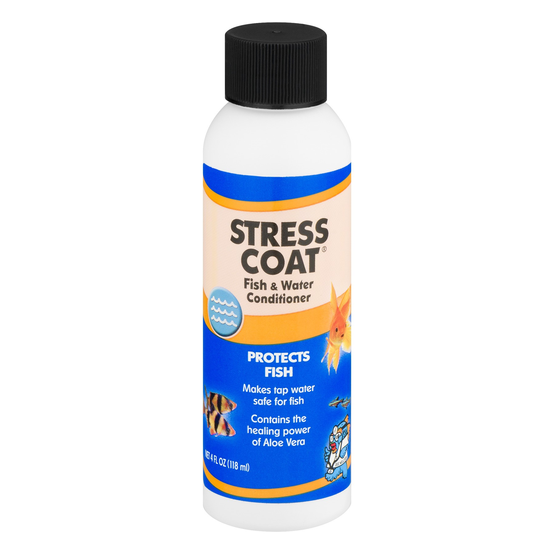 API Stress Coat Aquarium Water Conditioner, 4 Fl Oz