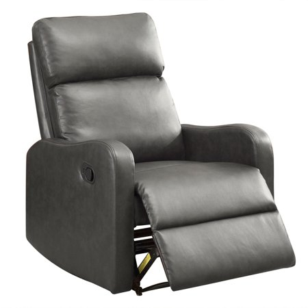 Sensational Bonzy Recliner Chair Leather Recliner Chair Contemporary Dark Gray Unemploymentrelief Wooden Chair Designs For Living Room Unemploymentrelieforg