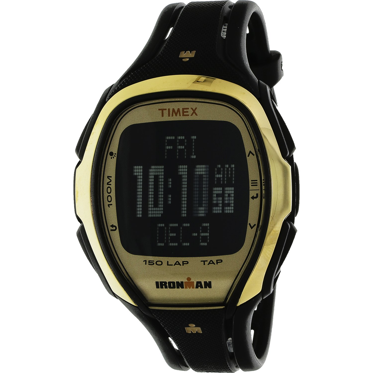 Timex Ironman Sleek TW5M05900 Gold Resin Quartz Diving Watch
