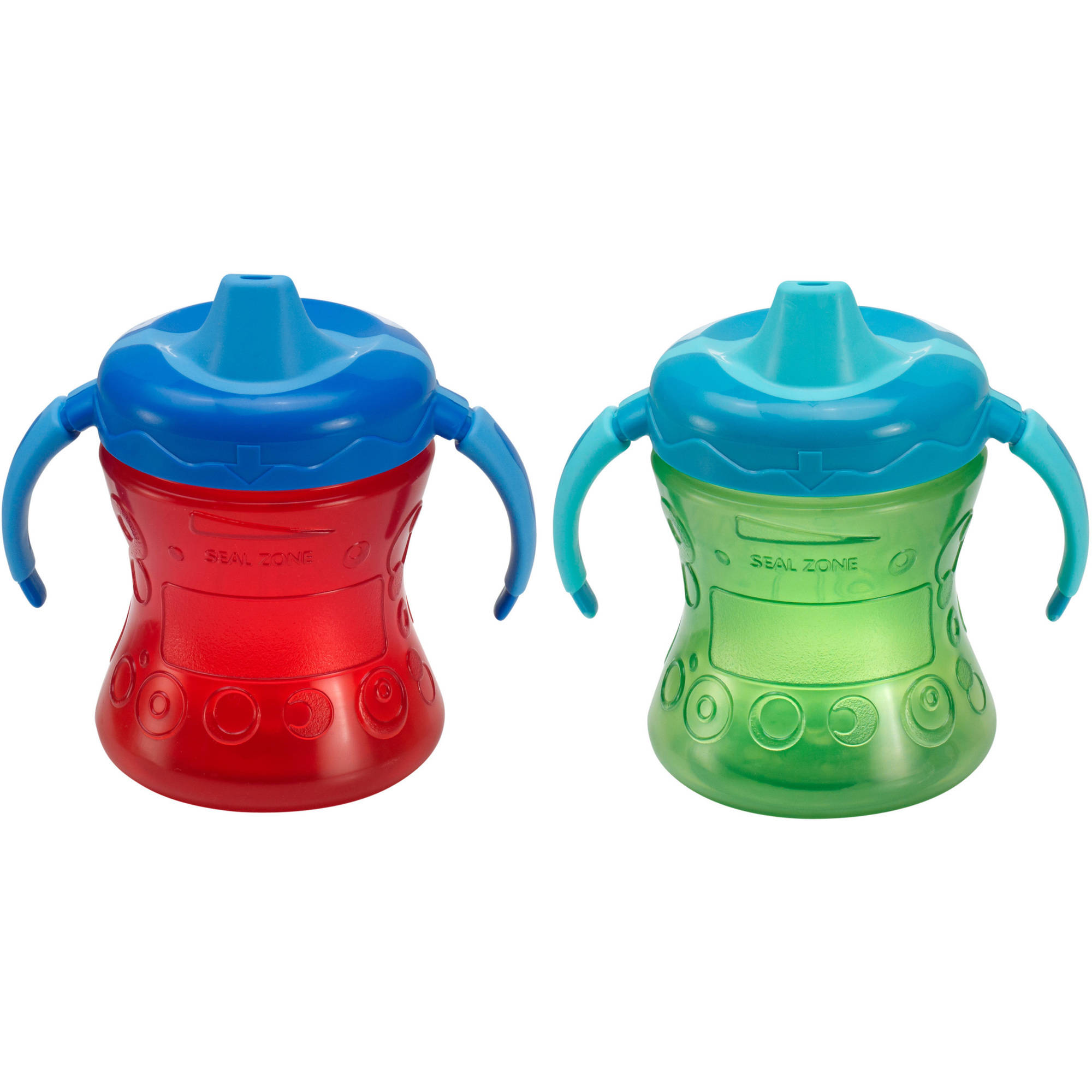 Gerber Graduates Fun Grip 7-oz Trainer Cups, BPA-Free, 2pk