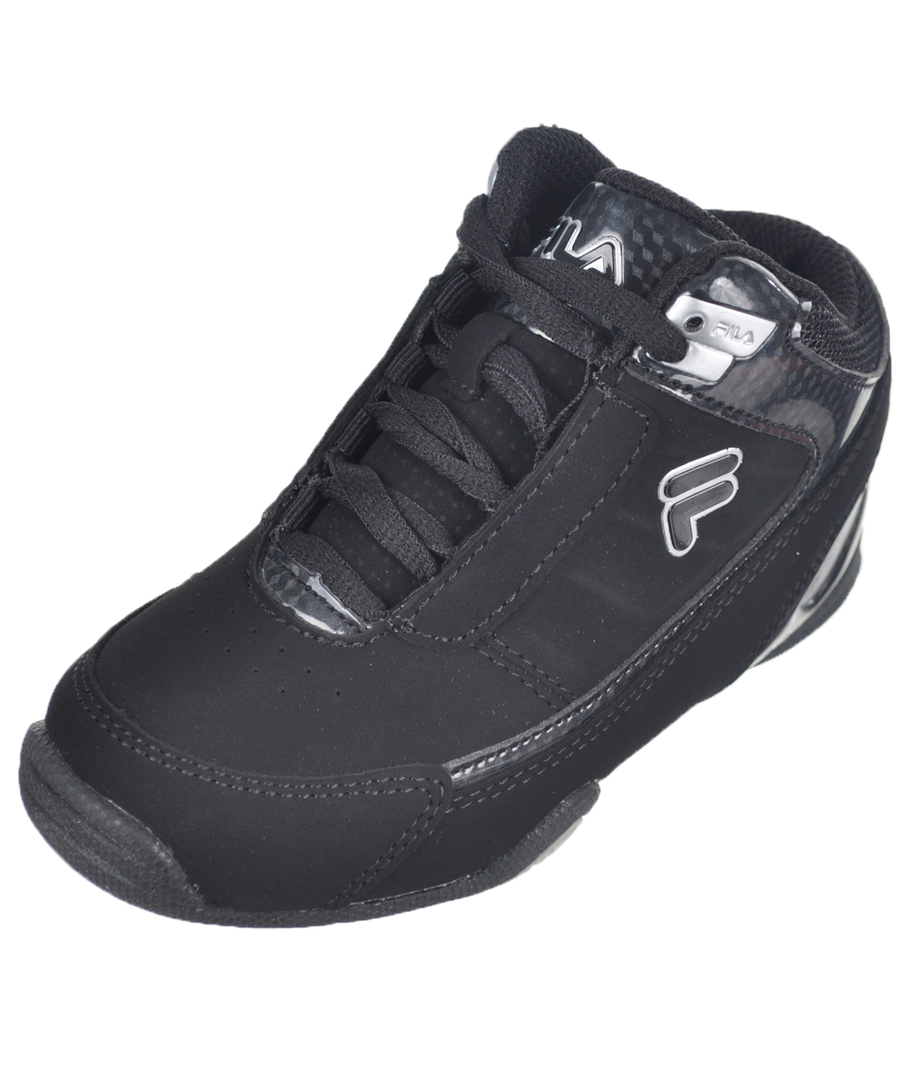"Fila Boys' ""Change the Game"" Hi-Top Sneakers (Toddler Sizes 11 12) by Fila"