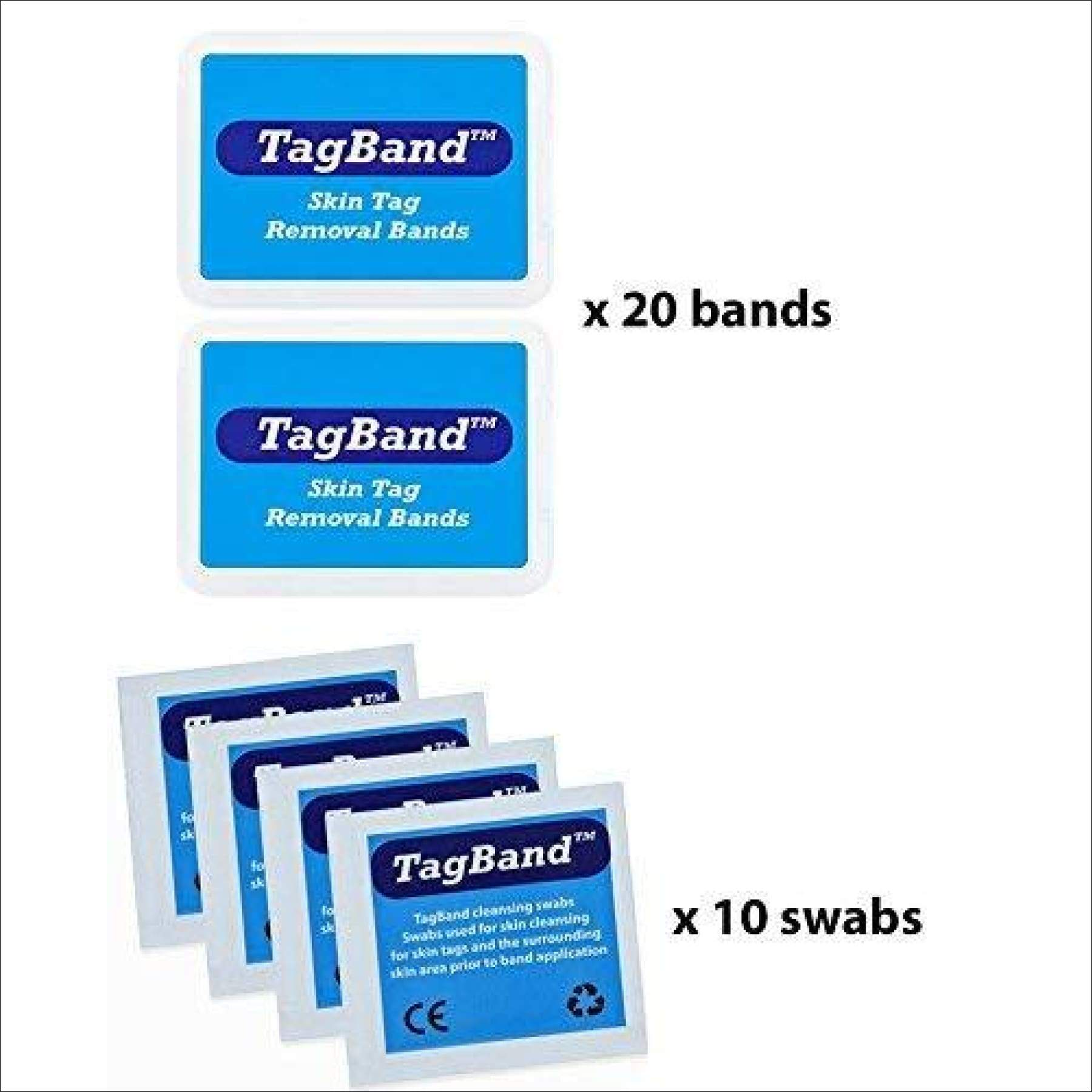 Micro Tagband Refill Band Pack For Skin Tag Remover Device