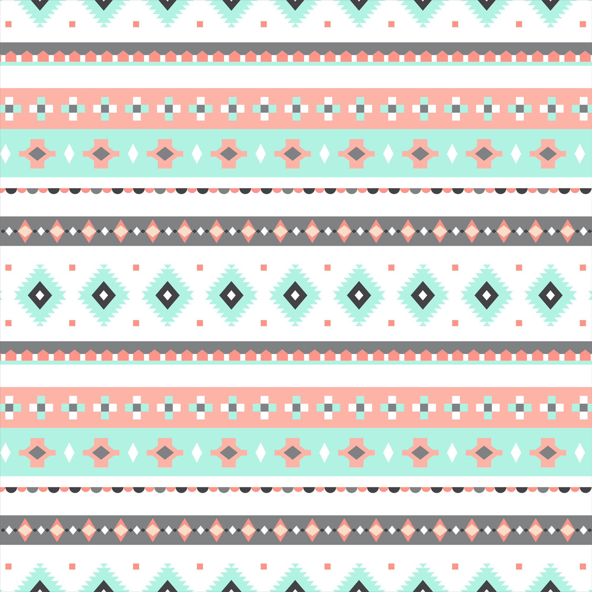 "David Textiles Fleece 36"" x 60"" Anti-Pill Bohemian Diamond Stripe Fabric, 1 Each"