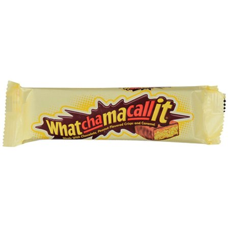Whatchamacallit Chocolate, Peanut Crisp and Caramel Candy Bars, 1.6 Oz., 36 Count (Caramel Peanut Crisp)