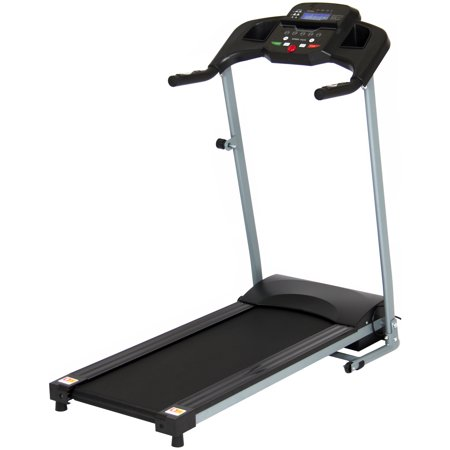 - Best Choice Products 800W Portable Folding Electric Motorized Treadmill Machine w/ Rolling Wheels - Black