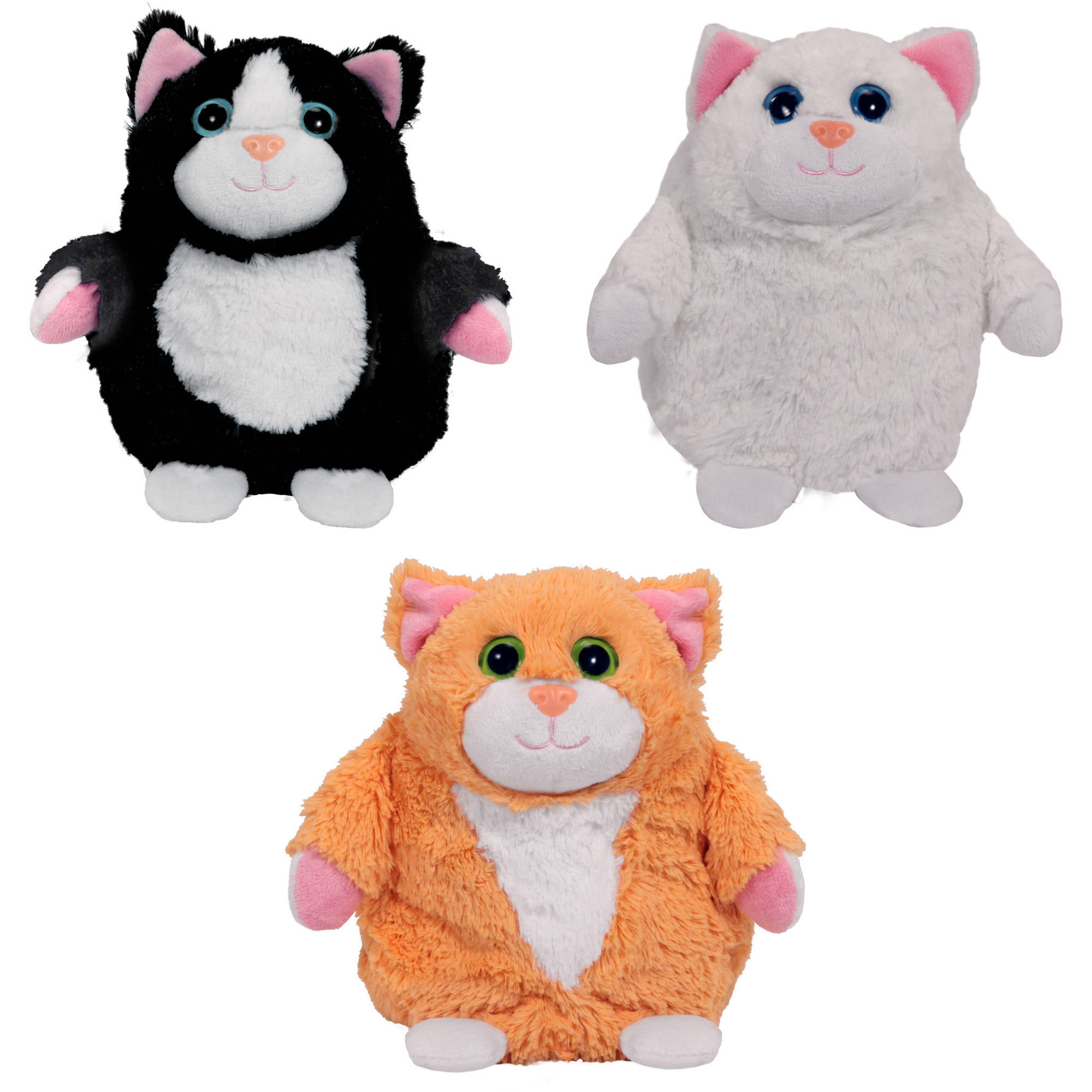 "As Seen on TV Pop Out Pets ""Kittens"" Tuxedo, Snowball, Tabby"