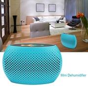 TOPINCN Portable Dehumidifier, Dehumidifier for Damp Air, Super Quiet Mini Portable Dehumidifier for Damp Air Moisture in Closet Car Drawer