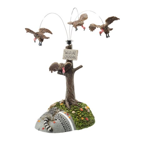 Dept 56 Halloween Village 4047546  Buzzard Delight Animated New](Dept 56 Halloween Carnival)